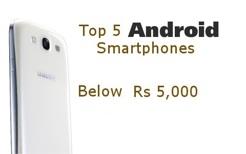 android phones below 5000