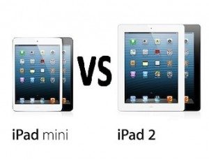 iPad Mini vs iPad 2