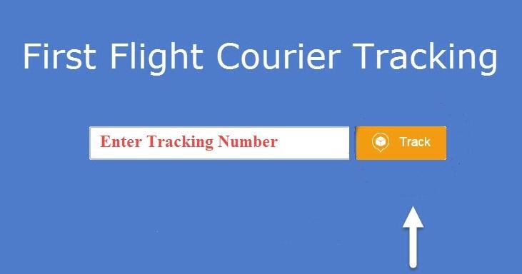 First Flight... First Flight Courier Tracking