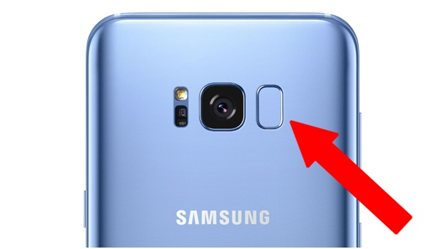 Samsung S8 Fingerprint scanner