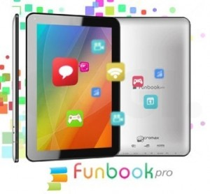 features of micromax funbok pro tablet