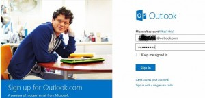 features of outlook email