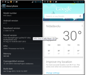 Install Stable Jelly Bean Custom ROM on HTC One X