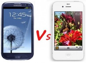 iphone 5 vs galaxy S3