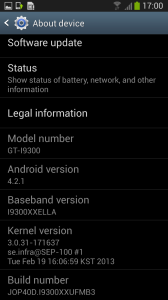 jelly bean official rom on Galaxy S3