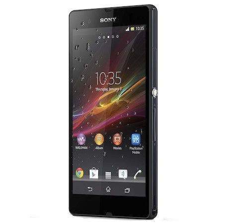 sony xperia z launched