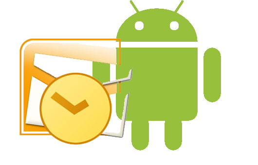 synchronizing outlook with android
