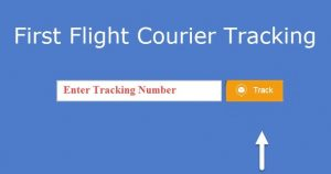 First Flight Courier Tracking Using E-Tracking Service