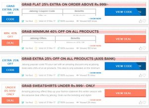 Look Stylish in This Winter With Latest Jabong Offers