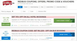 Redbus Brings Exciting Offers For You At Your City