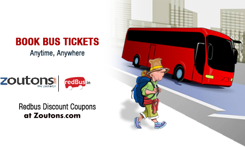 redBus Exciting offers