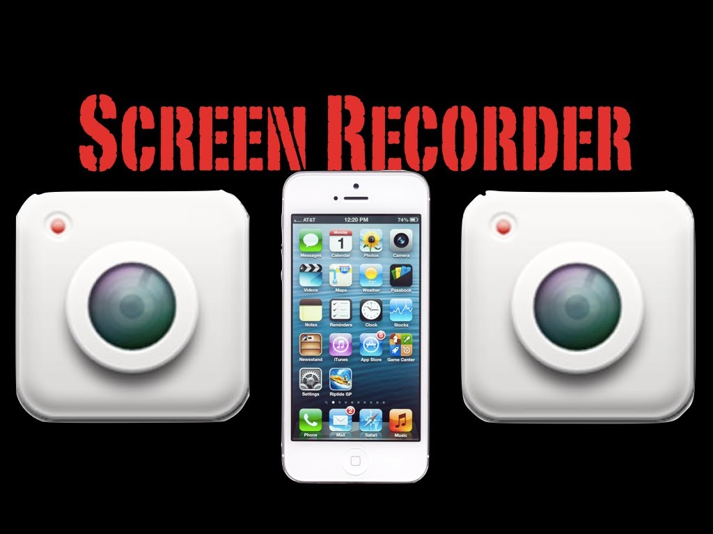 Screen recorders for iOS