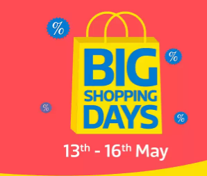 Top 5 Smartphones To Buy From Flipkart's Big Shopping Days Sale