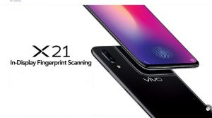 Vivo X21 Launched In India with in-display fingerprint Sensor, Face Unlock At Rs 35,990